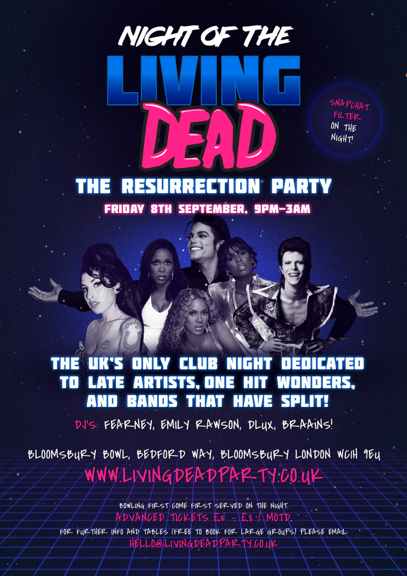 Night Of The Living Dead - The Resurrection Party!