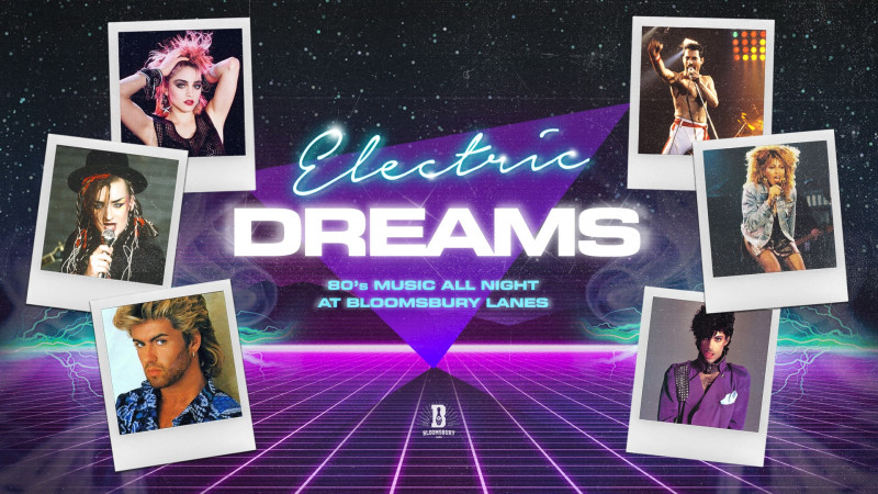 Electric Dreams - 80s Night