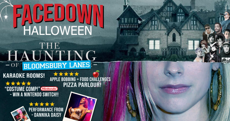 Face Down Halloween - Sold Out