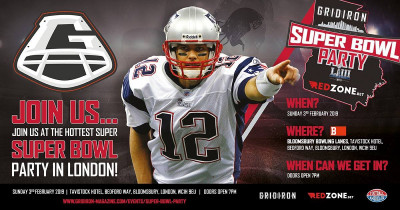Gridiron's Super Bowl Party with redzone.bet