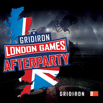 Gridiron London Games Afterparty