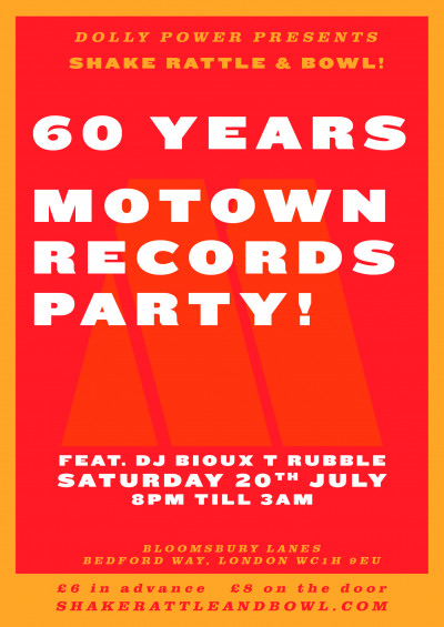 Shake, Rattle & Bowl: Motown Special